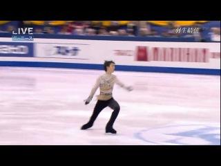 Mar 2012 Yuzuru Hanyu (Юзуру Ханью) - произвольная программа на Чемпионате мира - 2012 (Ницца)