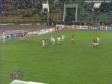 1996 - Андрей Тихонов встаёт в ворота в матче с