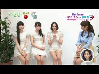 [TV] Perfume Question Time [ZIP! SHOWBIZ 12.04.2012]