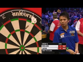 England vs Japan (PDC World Cup of Darts 2013 / First Round)