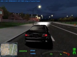 Toyota Chaser with 2JZ-GTE Drifting in the sity of Street Legal Racing