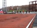 Финальный забег на 100 м у юношей младше 1994 года рождения на Первенстве и чемпионате Сахалинской области 2012 года 5 мая