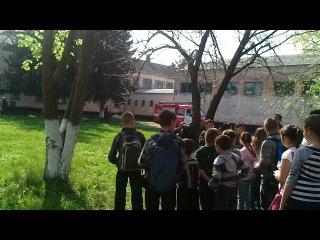 Евакуація в Піщанській школі