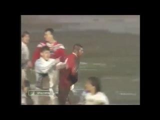Самый грязный футбол Крылья Советов - Локомотив ЧР 1996