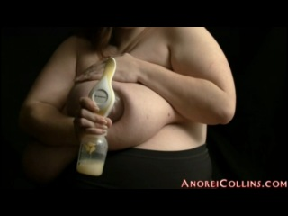 Anorei collins huge boobs milk pumping lactation