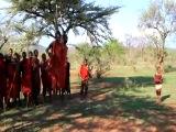 Брачный танец африканского племени. Вряд ли где это можно увидеть!!!