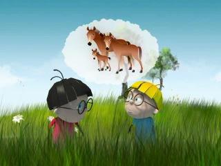 Тралик и Валик. Мультфильм 5 - Детеныши животных