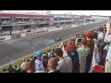 300 км/ч! Чемпионский Red Bull Феттеля в Москве + пончики от Култхарда