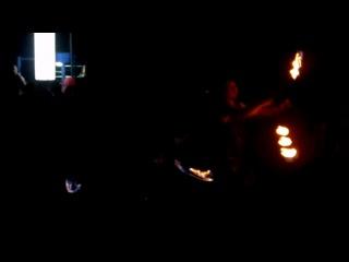 Фаер-шоу на открытии светомузыкального фонтана №2. Ростов-на-Дону, 30.06.2012