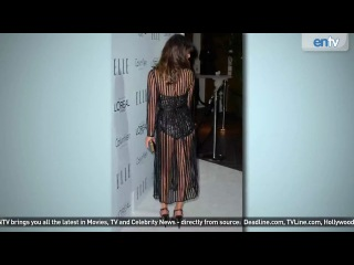 Hottest see-through dresses at the elle 'women in hollywood' gala- entv