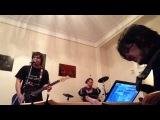 Dzioff Shock Therapy - Твои друзья (репетиция дома, 23.10.2013)