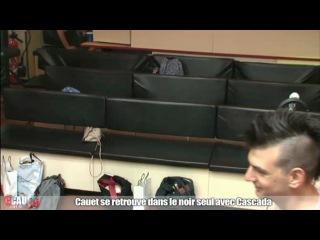 Cauet se retrouve seul dans le noir avec Cascada (NRJ) 27.06.2012