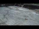 Начало вязания арматурного каркаса монолитной фундаментной плиты