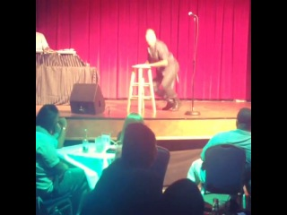 The funniest man #comedy show with my lady ...  @brandontjackson man it's always a pleasure we you step back i'm the d