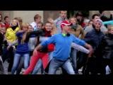 Самый лучший флешмоб ! Танец в центре Новосибирска ! Русские народные.