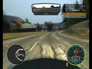 Разгон до макс. скорости Vauxhall Monaro VXR