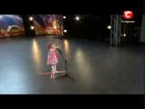 6-ти летняя девочка поразила весь зал