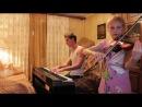 Cover Piano Violin OST The Truman Show (Шоу Трумана) - truman sleeps