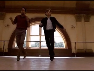 Михаил Барышников и Грегори Хайнс (танец из к/ф
