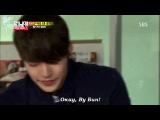 RUS SUB Running man 138 Lee Jong Hyun CN BLUE, Kim Soo Ro, Kim Woo Bin, Lee Jong Suk и Min Hyo Rin.