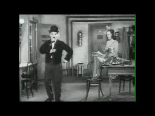 Чарли Чаплин (походка 1)