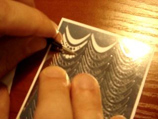 Наклейки (стикеры) для ногтей из тонкой фольги (серебро)