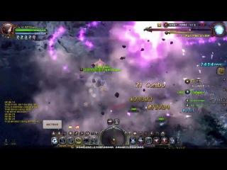 Dragonnest 龍之谷 刺客 Assassin 40Skill展示 黑獅.天啟HELL模式 by半糖