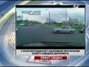 У Росії мотоцикліст шоломом протаранив карету швидкої допомоги