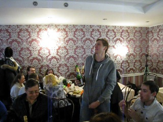 Кафе София на Тамбовской 7. 31 марта 2013 года. Санкт-Петербург.