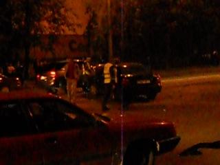 Авария в Витебске 18 мая около 21:30 и 22:00