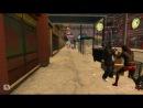 GTA 4. W-vs-M (Для поиска-> Девушка боец Смотреть до конца Прикол Приколы ГТА 4 В морду В асфальт кровь насилие)