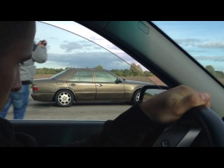 Bmw 530D E61 vs Mercedes W124 E500