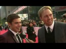 Zac Efron gives interview at Premiere The Lucky One in Berlin
