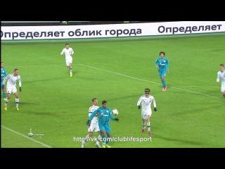 Зенит 0-0 ЦСКА | Обзор 1-го тайма