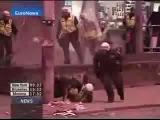 Вот как надо убегать от полиции))).