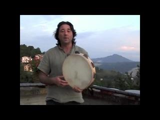 NAFDA Frame Drum Features 1 - Italian Tamburello Tammorra - Bruno Spagna