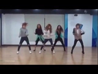 FM 2013 - 4minute - What's Your Name (2-ой танец) [отзеркалено]