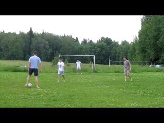 Тренировка запасного состава сборной России по футболу