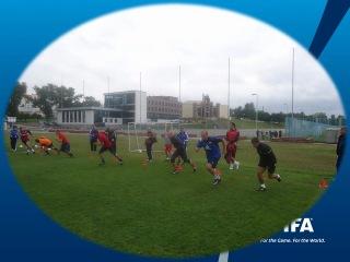 Курсы ФИФА по женскому футболу. Минск 2012