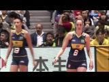 Волейбол. Женщины. Чемпионат мира 2010. Финал. Россия - Бразилия (5 Сет)