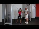 Оксана Артемова и Сергей Карандашов. Урок 3. Тренировка мышц спины.