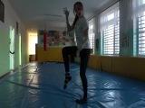 Наш новый танец! Денисова жгёт!!!