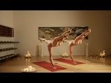 Undressed Yoga intermediate intro / Йога без одежды средний уровень вступление