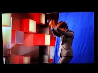 [full hd] making film of mr.simple mv (3d lg version) - super junior ft. f(x)'s victoria & sulli