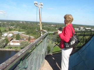 Выборг летом с башни св. Олофа!!!