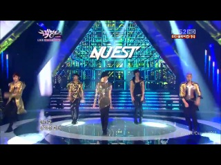[120713] NU'EST - Action (Comeback Stage) @ KBS Music Bank