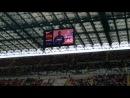 Inter-Siena.Представление игрков Интера.