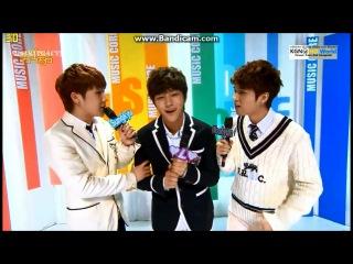 [Music Core]130406 Special MC @ Music Core - Sunggyu, L, Woohyun
