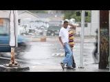 TURF FEINZ 'RIP RichD' YAK FILMS DANCING in the RAIN DANSE SOUS LA PLUIE HIPHOP STREET DANCE Oakland