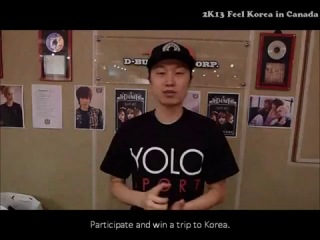 [Promotion Clip] 2K13 Feel Korea in Vancouver, Canada